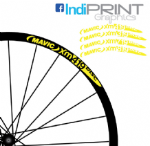 Mavic XM Range Rim Stickers/Decals